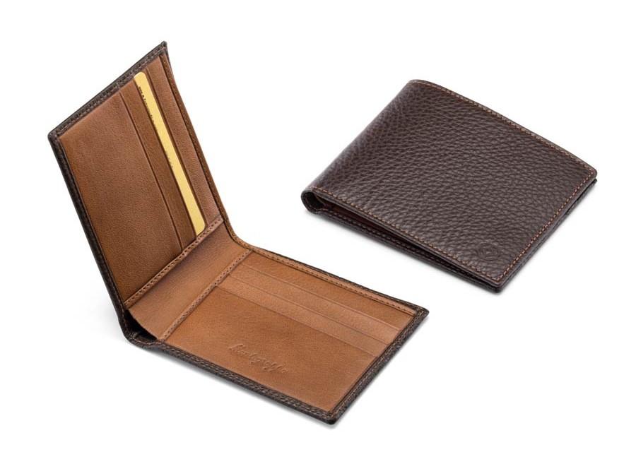 montegrappa portafoglio uomo marrone gioielleria luciano sassari