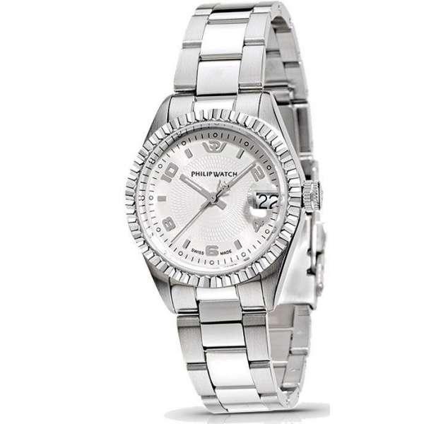 orologio-donna-philip-watch-caribbean-lady-silver-r8253107665 gioielleria luciano